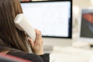 女性 電話 仕事