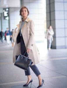 転職 女性 服装 コート